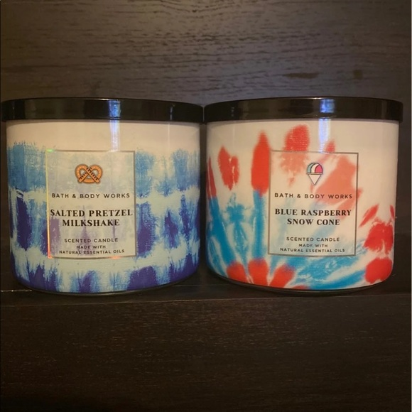 Bath and Body Works candles 90's throwback set HTF